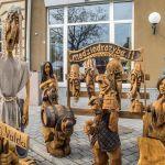 Drewniane rzeźby litewskie