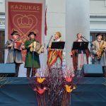 Litewski zespół ludowy na kiermaszu kaziukowym 03.2017