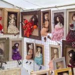 Ręcznie robione lalki na Kaziukach Wileńskich